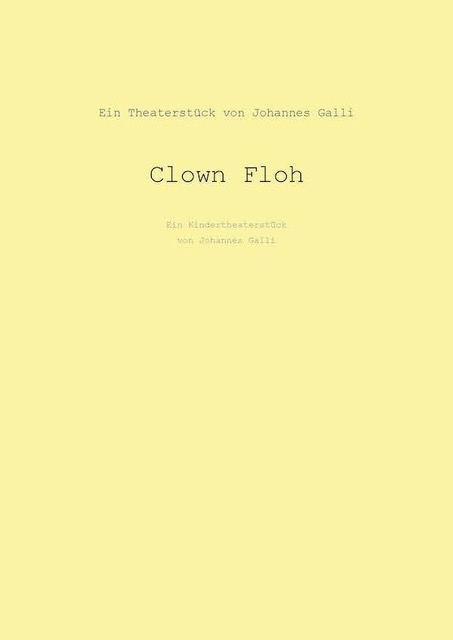 Clown Floh