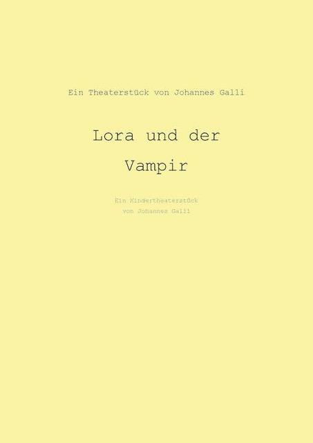 Lora Und Der Vampir